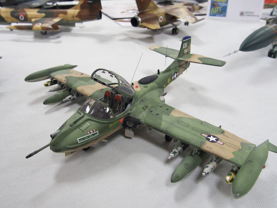 A-37B i 1/48 byggd av Johan Elvin